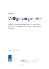 Leidraad Veilige zorgrelatie - Compacte versie